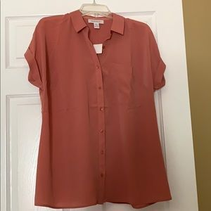 Motherhood maternity blouse sz small with tags